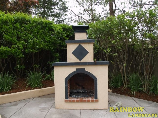 francisco california before afters bbq island fireplace patio